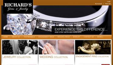 jewelry web design miami